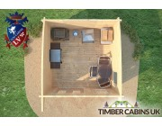 Log Cabin Manchester 3.5m x 3.5m 006