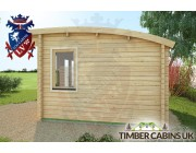 Log Cabin Manchester 3.5m x 3.5m 003