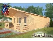 Log Cabin Melling 5m x 8m 002