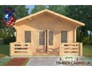 Log Cabin Melling 5m x 8m 003