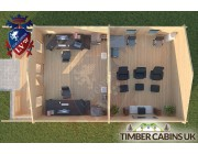 Log Cabin Melling 5m x 8m 004