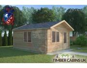 Log Cabin Mellor 4m x 5m 001