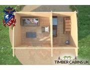 Log Cabin Milton Keynes 5m x 3m 006