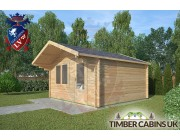 Log Cabin Mitton 4m x 4m 002