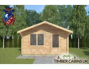 Log Cabin Mitton 4m x 4m 003