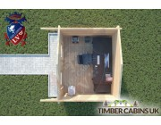 Log Cabin Morecambe 3m x 2.5m 004