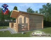 Log Cabin Morecambe 5m x 3m 002