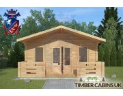 Log Cabin Morecambe 5m x 3m 003