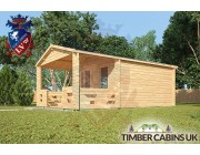 Log Cabin New Forest 4m x 6m 002