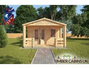 Log Cabin New Forest 4m x 6m 003