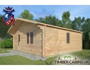 Log Cabin Newburgh 6m x 6m 002