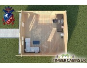 Log Cabin Newburgh 6m x 6m 004