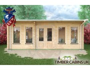 Log Cabin Newcastle-upon-Tyne 6.5m x 3.5m 004