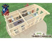 Log Cabin Newcastle-upon-Tyne 6.5m x 3.5m 006