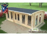 Log Cabin Newcastle-upon-Tyne 6.5m x 3.5m 005
