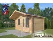 Log Cabin Newton-in Bowland 4m x 3m 002