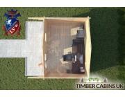 Log Cabin Newton-in Bowland 4m x 3m 004