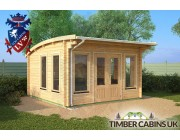 Log Cabin North Lanarkshire 4m x 4m 001