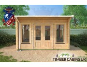 Log Cabin North Lanarkshire 4m x 4m 004