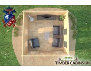 Log Cabin North Lanarkshire 4m x 4m 006