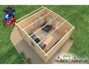 Log Cabin North Lanarkshire 4m x 4m 005