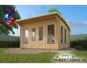 Log Cabin North Lanarkshire 4m x 4m 003