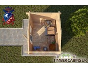 Log Cabin North Lincolnshire 2.6m x 2m 004