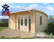 Log Cabin North Tyneside 5.5m x 3.5m 002