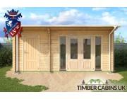 Log Cabin North Tyneside 5.5m x 3.5m 004