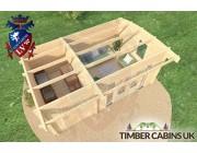 Log Cabin North Tyneside 5.5m x 3.5m 005