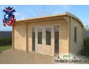 Log Cabin North Tyneside 5.5m x 3.5m 003