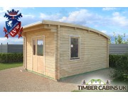 Log Cabin Northampton 3.5m x 4.5m 002