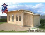 Log Cabin Nottingham 6.5m x 3.5m 002