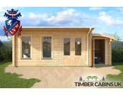 Log Cabin Nottingham 6.5m x 3.5m 004