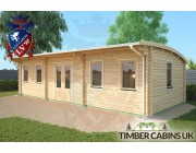 Log Cabin Oldham 9.5m x 4m 002