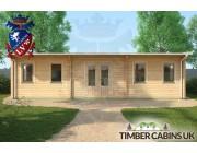 Log Cabin Oldham 9.5m x 4m 003