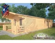 Log Cabin Ormskirk 4m x 11.5m 002