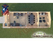 Log Cabin Ormskirk 4m x 11.5m 004