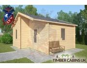 Log Cabin Ormskirk 5m x 4m 002