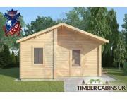 Log Cabin Ormskirk 5m x 4m 003