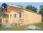 Log Cabin Overton 5m x 8m 002