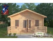 Log Cabin Overton 5m x 8m 003