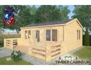 Log Cabin Parbold 6m x 4m 002