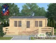 Log Cabin Parbold 6m x 4m 003