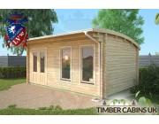 Log Cabin Plymouth 5.5m x 3.5m 002