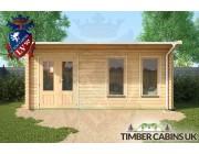 Log Cabin Plymouth 5.5m x 3.5m 003