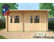 Log Cabin Portsmouth 5m x 3m 004