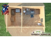 Log Cabin Portsmouth 5m x 3m 006