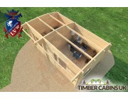 Log Cabin Portsmouth 5m x 3m 005