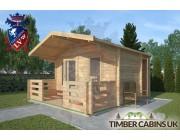 Log Cabin Poulton-le-Fylde 4m x 3m 002
